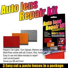 Auto Lens Repair Kit Quick Fix Cracked Broken Tail Light Smooth Surface DIY