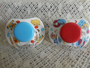 2 X  TOMMEE  TIPPEE   MAGNETIC  DUMMIES  4/DOLLS