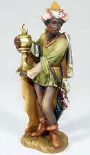 Anri-personaggio legno personaggio MANGIATOIA Natale mangiatoia Caspar Santa tre re-Top