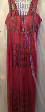 NWT Gorgeous Red Formal Gown w/Red Sequins, Fully Lined, Retail $180.