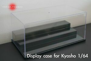 NEW 1/64 Collection Display Case for Kyosho Model Car Diecast UV Resistant