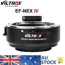 Viltrox EF-NEX IV Auto Focus Adapter Canon EF EF-S to SONY A9/7/7R/6300/6500 AU