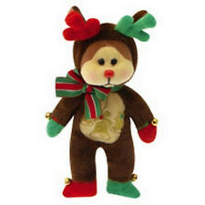 "SKANSEN BEANIE KID ""CUPID THE REINDEER BEAR""   MINT WITH MINT TAG PREM. EXCL."