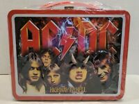 AC/DC Highway To Hell Tin Lunchbox Axis Is Love Collectible NEW Embossed BS