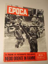 EPOCA=1958/408=MARINES USA IN BEIRUT LIBANO=SARMEDE VITO FAVERO=GUIDO CAMPARI=