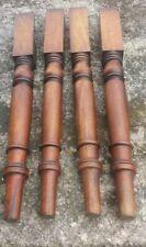Set of 4 Victorian Mahogany Legs