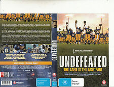 Undefeated:The Game Is The Easy Part-Documentary-2011-Sport-DVD