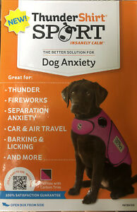 Thunder Shirt Sport For Dog Anxiety, Medium, Pink