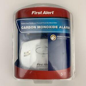 First Alert CO400 Carbon Monoxide Alarm Detector New Ships Fast