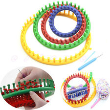 Round Circle Hat Knitter Knitting Knit Loom Kit 4 Sizes New Classical Quality