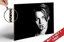 LEONARDO DICAPRIO YOUNG 30x21cm Poster Stampa Bianco e Nero
