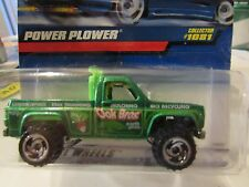 Hot Wheels Power Plower #1081 Green