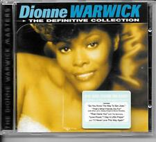 CD BEST OF 20 TITRES--DIONNE WARWICK--THE DEFINITVE COLLECTION