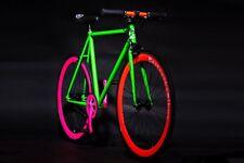 BEATNECKS BIKE Fixie Finglespeed Fluoreszierend Fahrrad Designer Style B-WARE