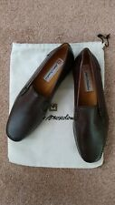 NWB Sandro Moscoloni Salida Men's Brown Loafers Size 10 EEE Made in Spain