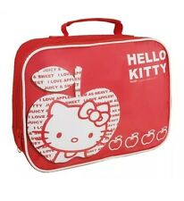 Hello kitty 'i love pommes!' école rectangle sac à lunch