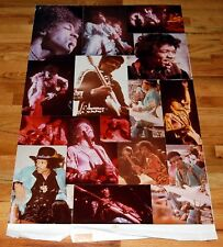 Jimi Hendrix Original Photos Proof Mockup for #3383 Dargis Collage Poster 1976