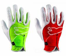 2 GLOVES PUMA Golf Glove Mens RIGHT HAND REGULAR FIT Monoline RED or GREEN SZ SM