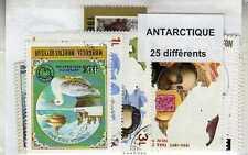 ANTARCTIQUE 25 timbres différents