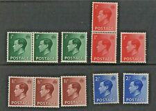 1936 - King Edward Viii - Lot Of Eleven Stamps - Mint Never Hinged