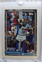 1992 Topps Stadium Club Starting Lineup Shaquille O'Neal RC #47SL Orlando Magic