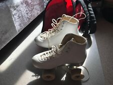 Second Hand Professional Artistic leather Roller Skates UK size 4 EU size 37