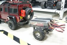 DIY trailer For 1/10 TRAXXAS Trx-4 TRX4 D90 SCX10 Rc Crawler Car Part