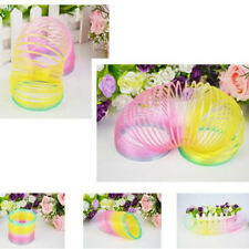 Very Cool Colorful Rainbow Plastic Magic Slinky Children Classic Development Toy