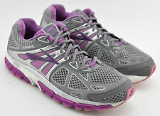 WOMENS BROOKS ARIEL 14 RUNNING SHOES SIZE 10 US 42 EU GRAY PURPLE WHITE SILVER
