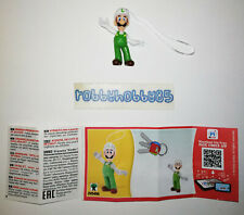 DV549 A Luigi Feuerwehrmann Mit Bpz Ferrero Italien 2020 Kinder Joy Super Mario