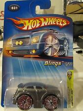 Hot Wheels Blings Chrysler 300C #031 2005 First Editions Gray