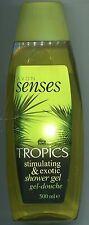 (1 l = 19,20 €) Avon - Senses Duschgel - tropics  500 ml