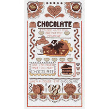 Janlynn Cross Stitch Kit - Chocolate Sampler