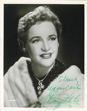 Eleanor Steber signed Operatic Soprano vintage 8 x 10 photo 1914-1990