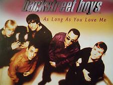 BACKSTREET BOYS - As Long As You Love Me 4 Track CD