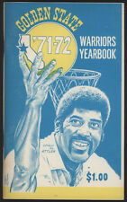 1971-72 Golden State WARRIORS  Media Guide