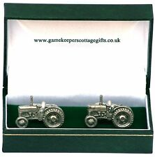 Green Tractor Cufflinks Ideal farming Gift NEW Boxed CLEARANCE 160