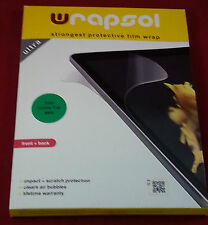 Wrapsol UHMPAC001 Strongest Protective Film Wrap for Acer Iconia Tab A500, NEW