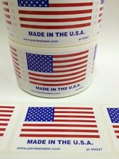 250 Made in the USA 2x3Label Labels Stickers Made in the USA eBay Labels 2x3