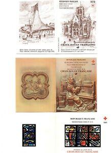 ✨Timbres Neufs France, 3 Carnet C.R, 1979, 80, 81, N** TB cote 28€ (017)✨