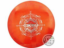 Used Latitude 64 Opto Compass 174g Red Silver Foil Midrange Golf Disc