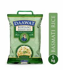 Daawat Biryani Basmati Rice 5 kg (Free shipping world) Pure Vegetarian