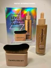 Tanologist Level Up Your Glow Body Beam bronzing drops & blending brush GIFT SET