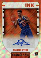 2018-19 Panini Hoops Basketball Autograph Singles w/Rookies (Pick Your Cards)