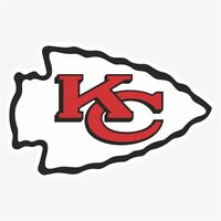 Kansas City Chiefs #1 NFL Logo Die Cut Vinyl Decal Buy 1 Get 2 FREE