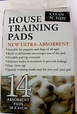Clean 'N' Tidy Puppy House Training Pads ~ Ultra-Absorbent ~ 14 Pads per Pack