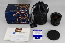 【New other in Box】 Carl Zeiss Contax T* Distagon 18mm F/4 Lens MM From Japan#466