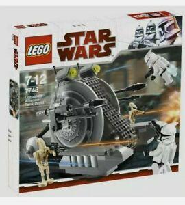 *BRAND NEW* Lego 7748 Star Wars Corporate Alliance Tank Droid Retired Set x 1