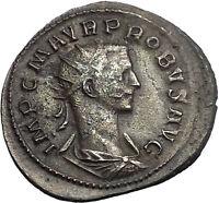 Probus 276AD Rare Ancient Authentic Roman Coin Mars War God i55116
