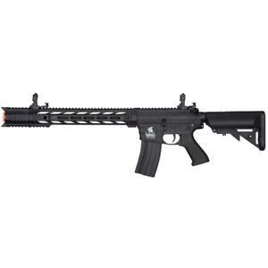 LANCER TACTICAL GEN 2 M4 SPR INTERCEPTOR AIRSOFT FULL AUTO ELECTRIC RIFLE GUN